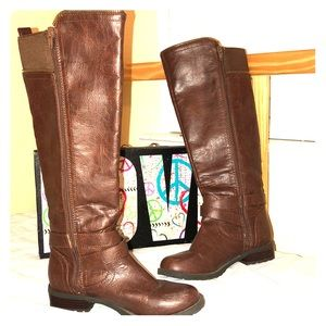 G by Guess knee high  brown boots